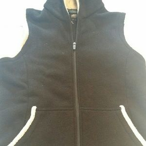 Kuhl Black  alfpaca Large hooded Vest